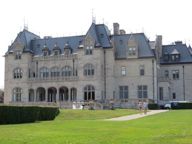 Mansion on Cliff Walk