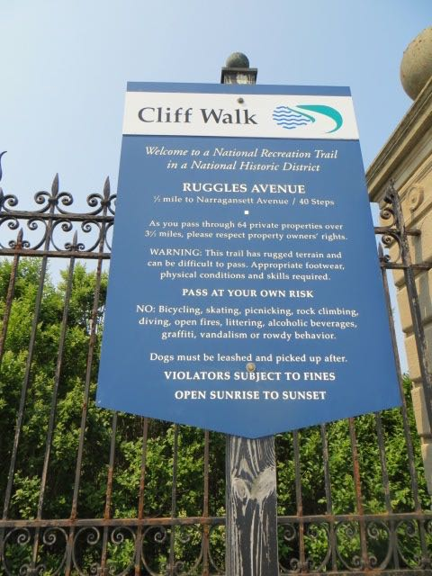 The Cliff Walk, Newport