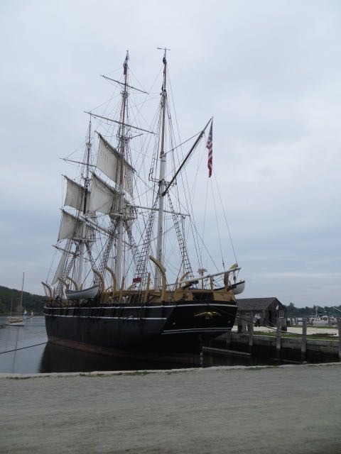 Whaling Ship In Mystic