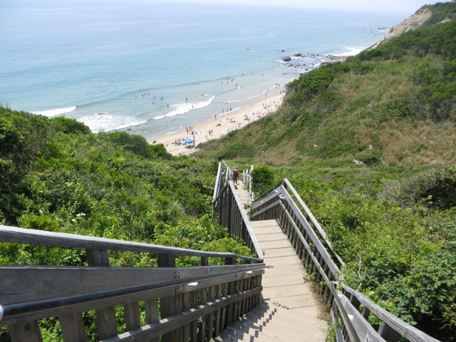 150 Steps Down To The Beach