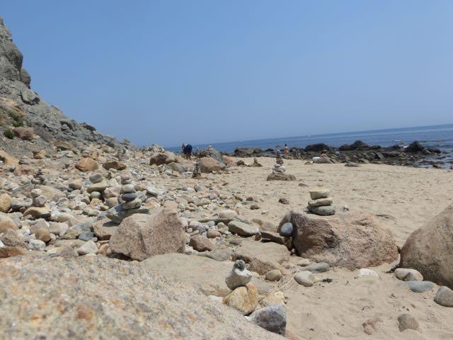 Beach Rock Sculpture
